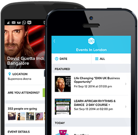 All Events in City App